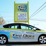 First Choice Car Sign