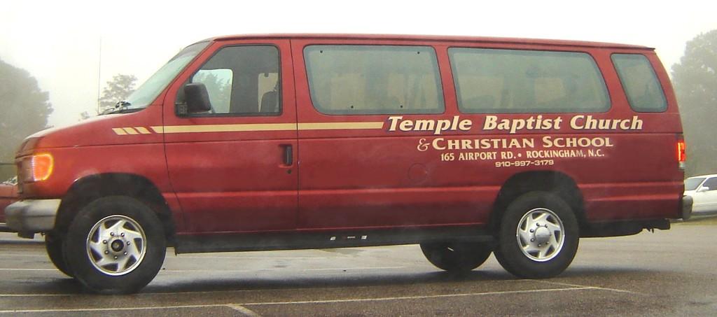Temple Van