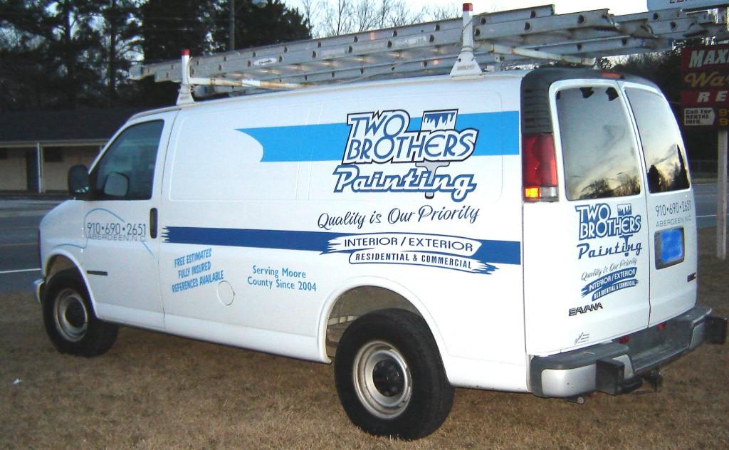 Two Bros. van